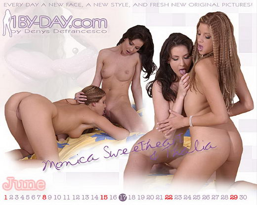 Monica Sweetheart & Thalia - `7213` - for 1BY-DAY ARCHIVES