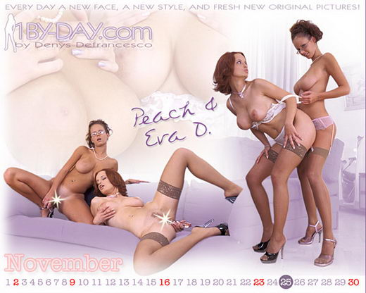 Peach & Zuzana D - `1145` - for 1BY-DAY ARCHIVES