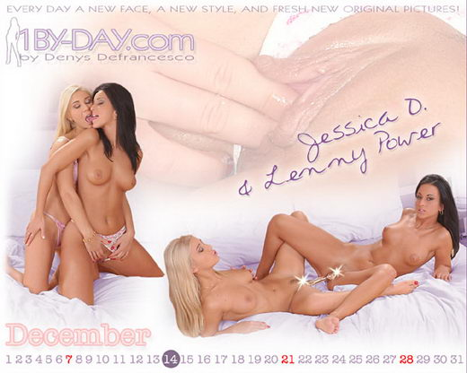 Lenny Power & Jessica D - `7231` - for 1BY-DAY ARCHIVES