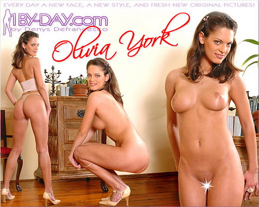 Olivia York in 5671p1 gallery from 1BY-DAY ARCHIVES