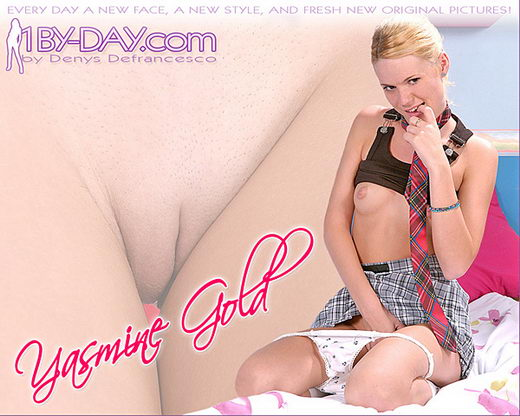 Yasmine Gold - `5683` - for 1BY-DAY ARCHIVES