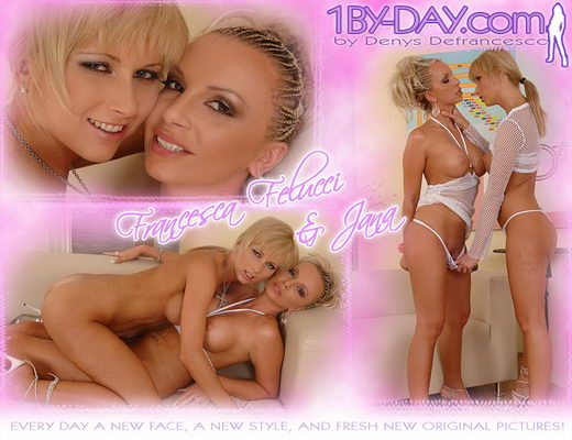 Francesca Felucci & Jana - `7671` - for 1BY-DAY ARCHIVES