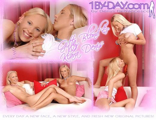 Gitta Blond & Klara Denis - `7800` - for 1BY-DAY ARCHIVES