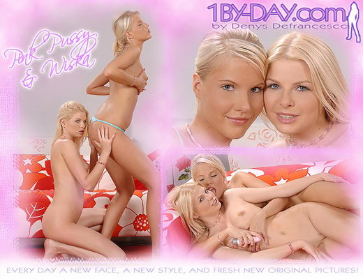 Pink Pussy & Wiska - `7776` - for 1BY-DAY ARCHIVES