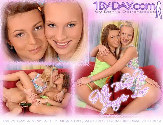 Gitta Blond & Jennifer Love - `7846` - for 1BY-DAY ARCHIVES