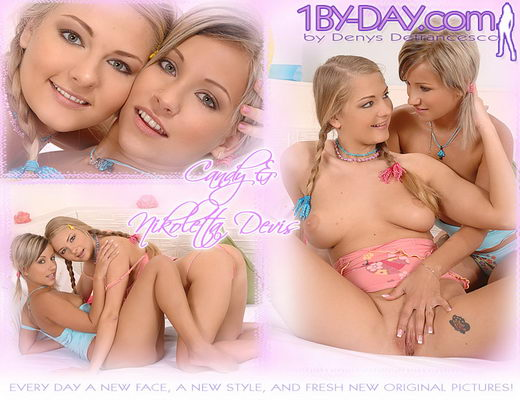 Candy & Nikoletta Devis - `7859` - for 1BY-DAY ARCHIVES