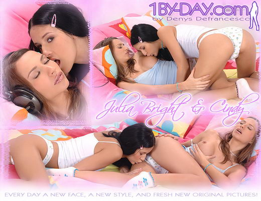 Julia Bright & Cindy - `7873` - for 1BY-DAY ARCHIVES