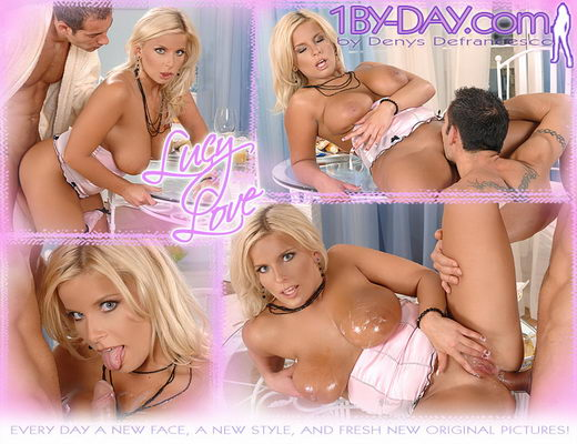 Lucy Love - `7840 ( Uncensored )` - for 1BY-DAY ARCHIVES