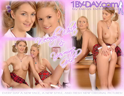Yasmine Gold & Weendy White - `9006` - for 1BY-DAY ARCHIVES