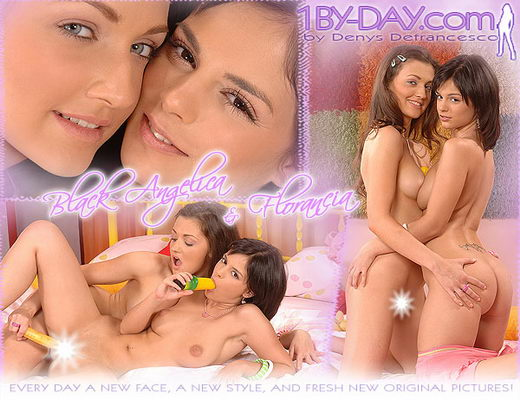 Black Angelica & Florancia - `9050` - for 1BY-DAY ARCHIVES