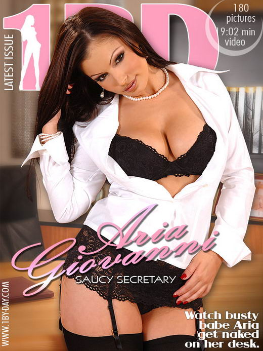 Aria Giovanni - `Saucy Secretary` - for 1BY-DAY