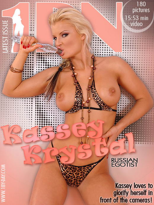 Kassey Krystal - `Russian Egotist` - for 1BY-DAY