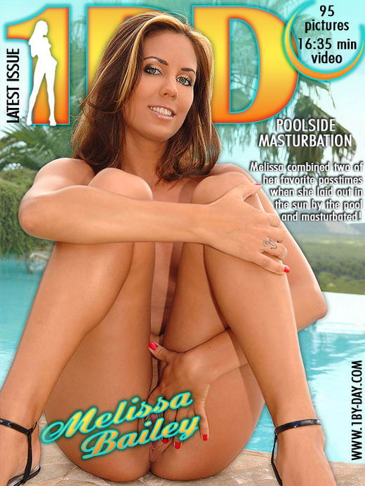 Melissa Bailey - `Poolside Masurbation` - for 1BY-DAY