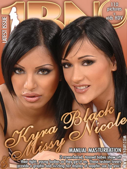 Kyra Black & Missy Nicole - `Manual Masturbation` - for 1BY-DAY