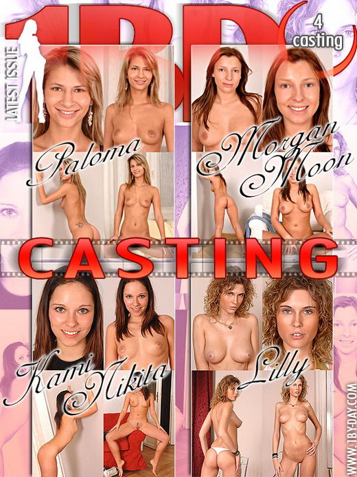 Paloma & Morgan Moon & Kami Nikita & Lilly - `Casting` - for 1BY-DAY