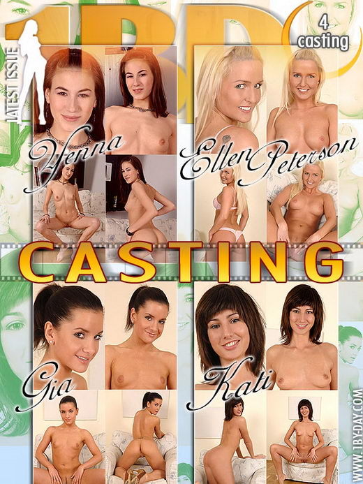 Yenna & Ellen Peterson & Gia & Kati - `Casting` - for 1BY-DAY