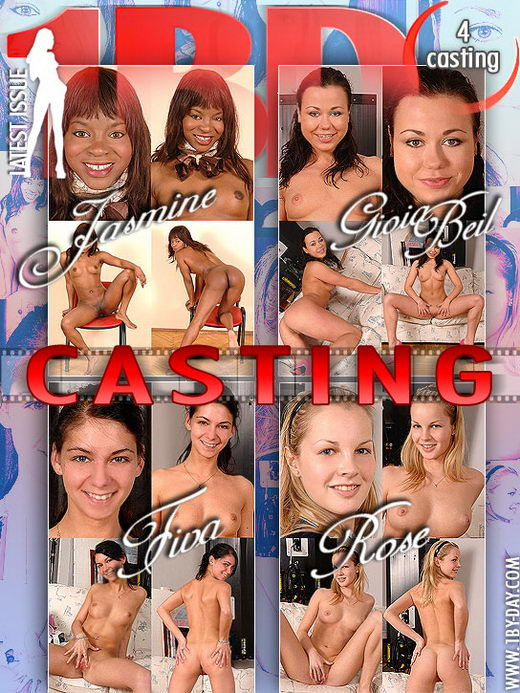 Jasmine & Gioa Beil & Fiva & Rose - `Casting` - for 1BY-DAY