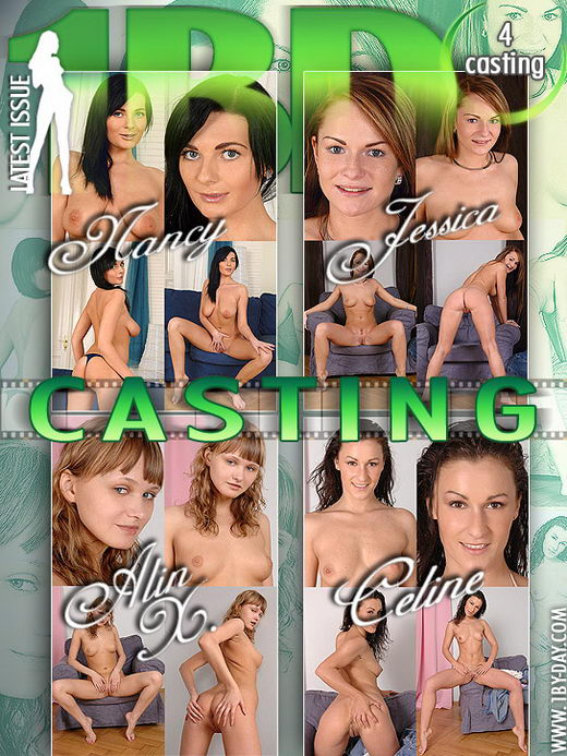 Celine & Nancy & Jessica & Alin X - `Casting` - for 1BY-DAY