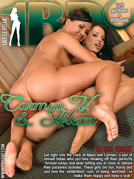 Carmen V & Alexa - `In The Crack` - for 1BY-DAY