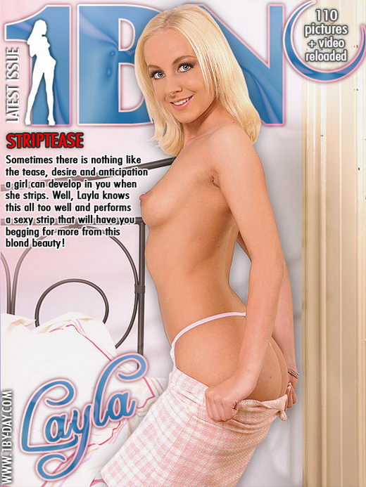 Layla - `Striptease` - for 1BY-DAY
