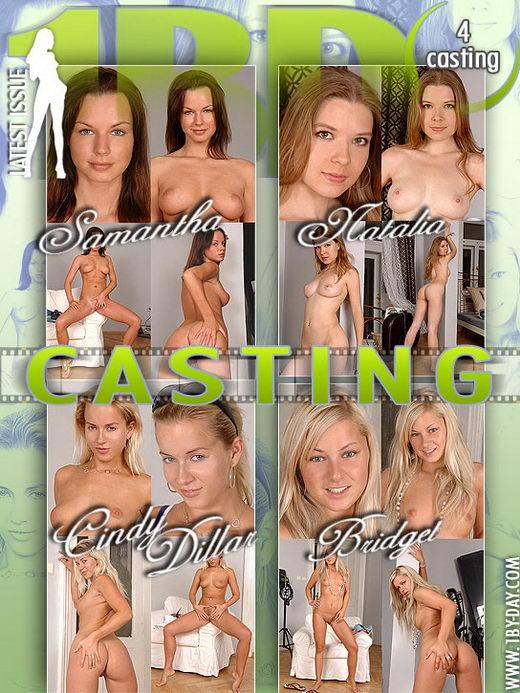 Samantha & Natalia & Cindy Dillar & Bridget - `Casting` - for 1BY-DAY