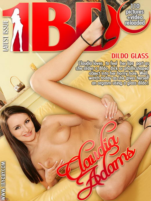 Claudia Adams - `Dildo Glass` - for 1BY-DAY