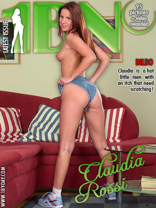 Claudia Rossi - `Dildo` - for 1BY-DAY