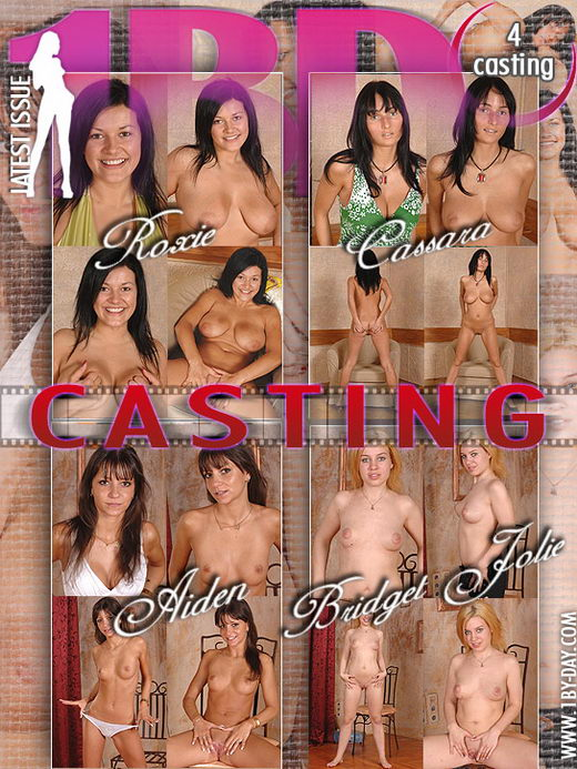 Aiden & Roxie & Cassara & Bridget Jolie - `Casting` - for 1BY-DAY