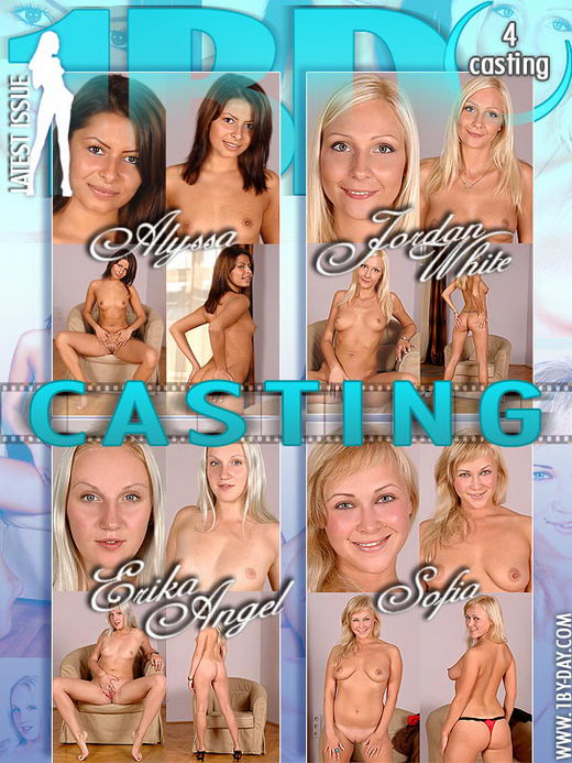 Alyssa & Jordan White & Erika Angel & Sofia - `Casting` - for 1BY-DAY