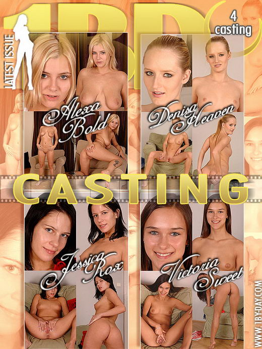 Alexa Bold & Denisa Heaven & Jessica Rox & Victoria Sweet - `Casting` - for 1BY-DAY