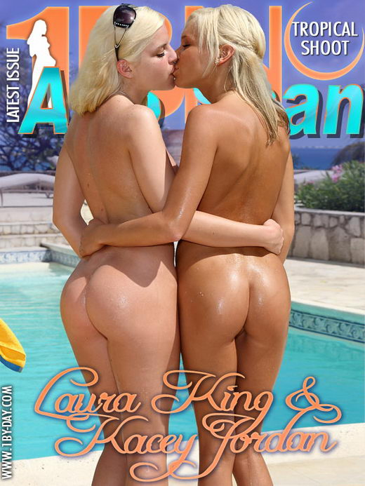 Laura King & Kacey Jordan - `Tropical Shoot` - for 1BY-DAY