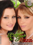Belicia & Gina - GG Glass Dildo