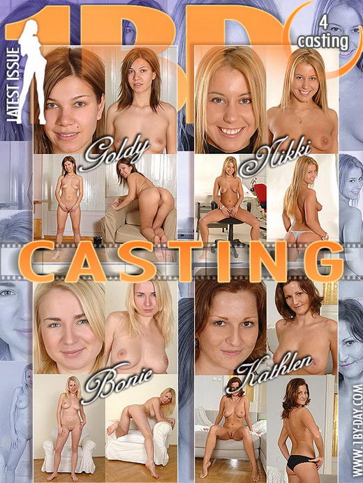 Goldy & Nikki & Bonie & Kathlen - `Casting` - for 1BY-DAY