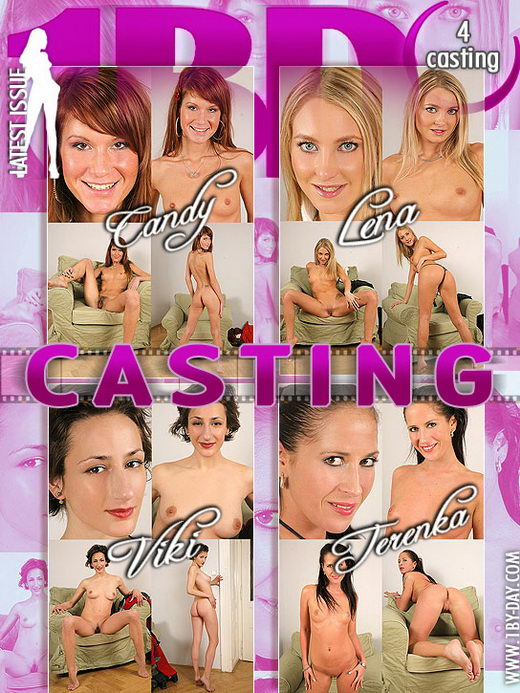 Candy & Lena & Terenka & Viki - `Casting` - for 1BY-DAY