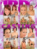 Candy & Lena & Terenka & Viki in Casting video from 1BY-DAY