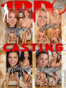 Bailey & Maddy & Black Barbi & Federica Hill in Casting video from 1BY-DAY