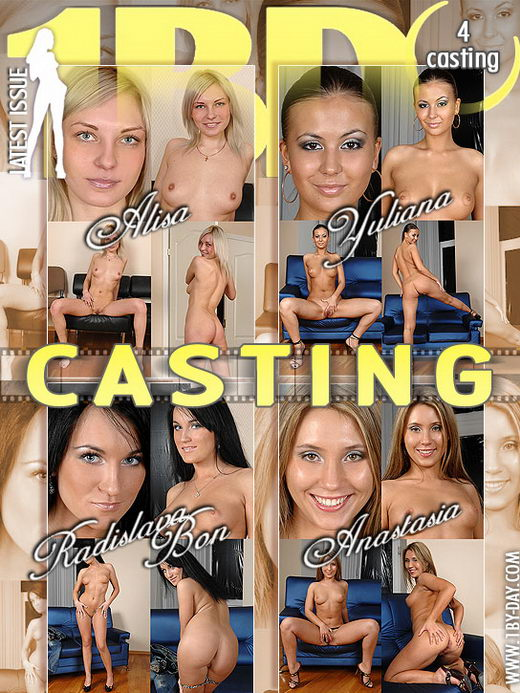 Alisa & Anastasia & Yuliana & Radislava Bon - `Casting` - for 1BY-DAY