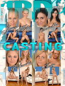 Jessica Miller & Sonechka & Barbamiska & Katty in Casting video from 1BY-DAY