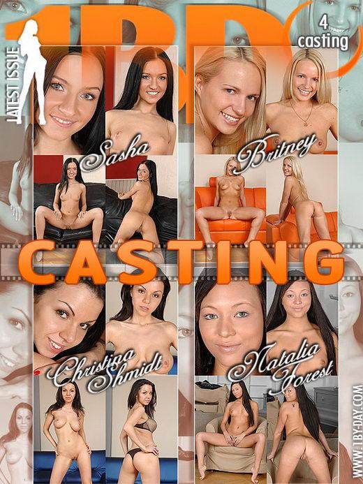 Natalia Forrest & Sasha & Britney & Christina Shmidt - `Casting` - for 1BY-DAY