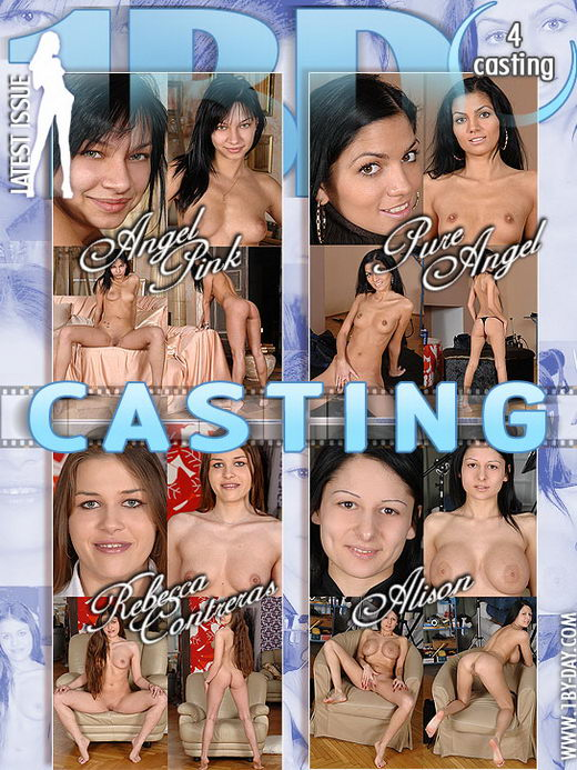 Angel Pink & Pure Angel & Rebecca Contreras & Alison - `Casting` - for 1BY-DAY
