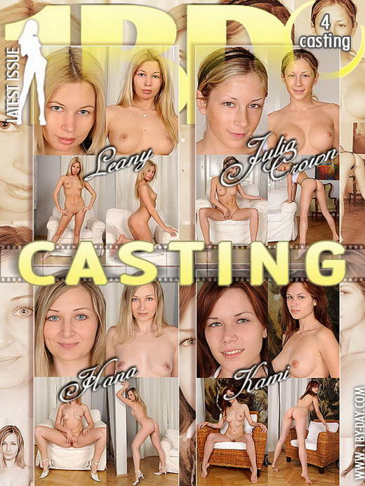 Leany & Julia Crown & Hana & Kami - `Casting` - for 1BY-DAY