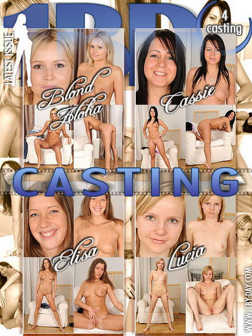 Blond Aloha & Cassie & Elisa & Lucia - `Casting` - for 1BY-DAY