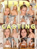 Leany & Julia Crown & Hana & Kami in Casting video from 1BY-DAY