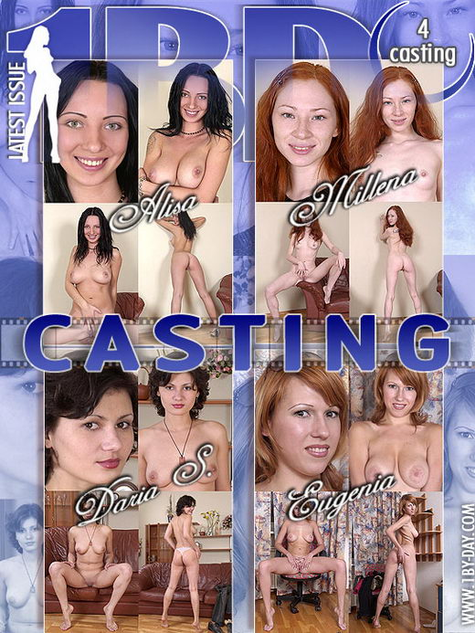 Alisa & Millena & Daria S & Eugenia - `Casting` - for 1BY-DAY