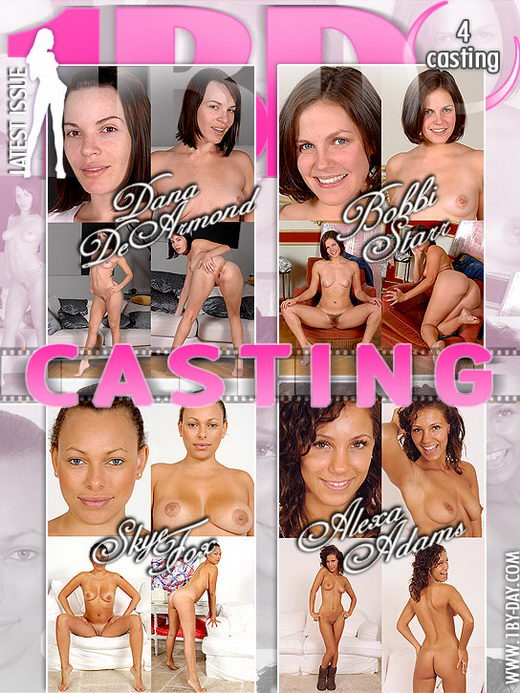 Dana De Armond & Bobbi Starr & Skye Fox & Alexa Adams - `Casting` - for 1BY-DAY