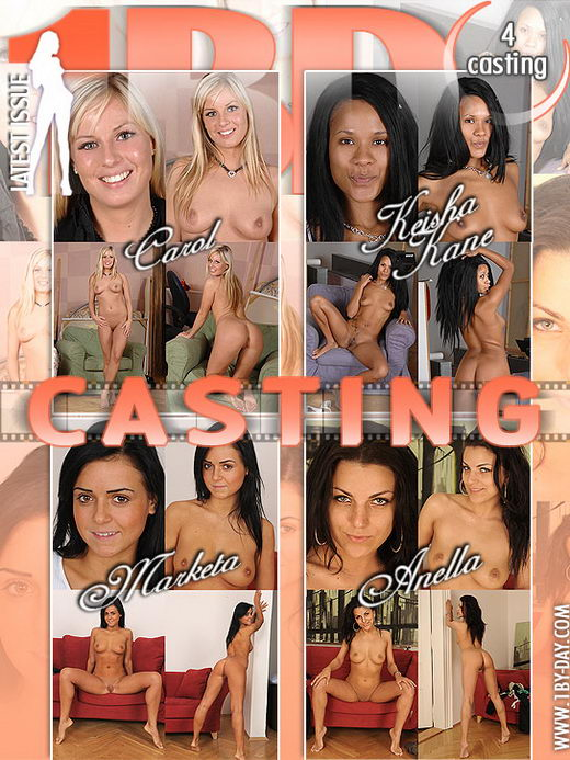 Carol & Keisha Kane & Marketa & Anella - `Casting` - for 1BY-DAY
