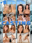 Sophia Knight & Alise Alanis & Lorena in Casting video from 1BY-DAY