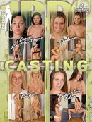 Erica La Montagne & Gabina & Katya & Lusciolus Eden in Casting video from 1BY-DAY