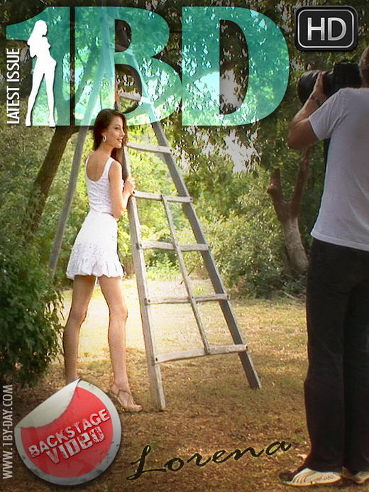 Lorena - `Backstage Video` - for 1BY-DAY