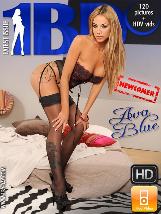 Ava Blue - `Newcomer` - for 1BY-DAY
